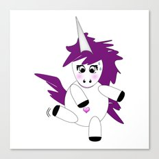Unicorn Ballet Canvas Print