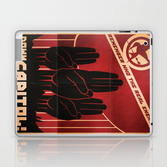 Down With The Capitol - Propaganda Laptop & iPad Skin