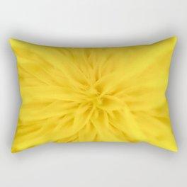 Sunny yellow spring Rectangular Pillow
