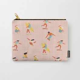 Skateboarding in California of 70s Carry-All Pouch