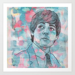 I`ve Just Seen A Face Art Print