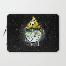 shit rules the world Laptop Sleeve