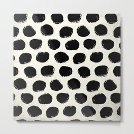 Urban Polka Dots Metal Print