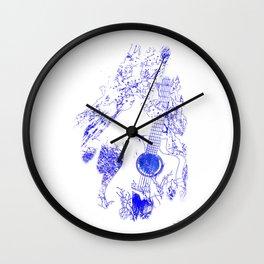 Rustic Harmonies - Rustic Memories Wall Clock