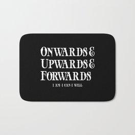 Onwards&Upwards&Forwards. Bath Mat