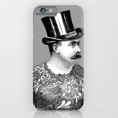 Tattooed Victorian Man iPhone 6s Slim Case