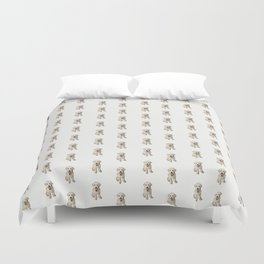 Dottie Unleashed! Duvet Cover