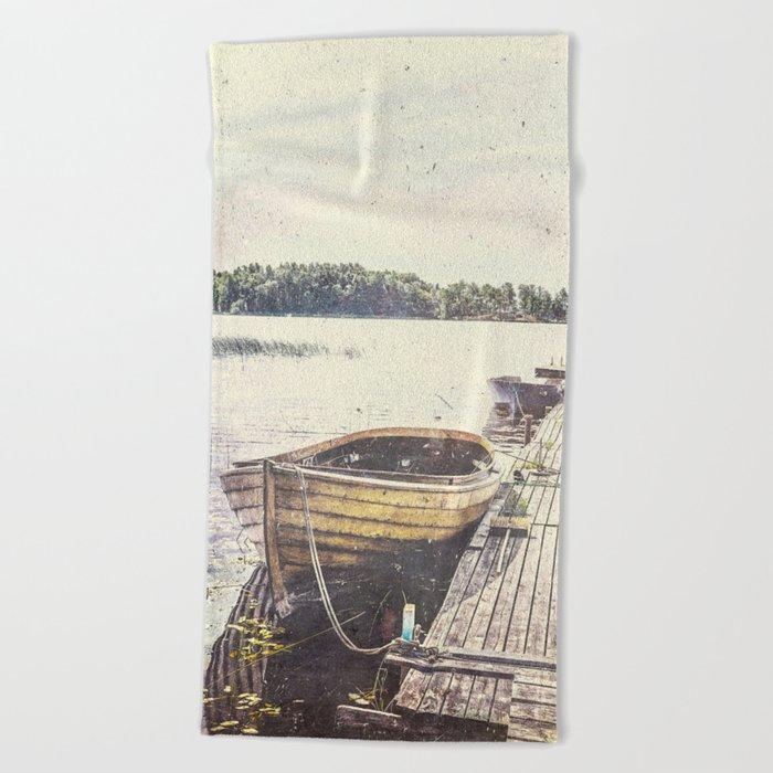 Boaty Beach Towel