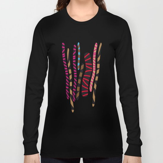 colored sticks 2 Long Sleeve T-shirt