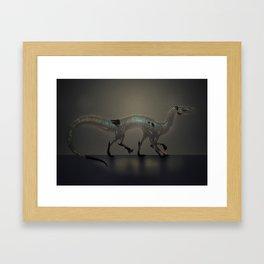 Labradorite dragon Framed Art Print