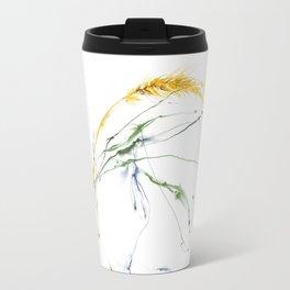 Wheat and grass Travel Mug