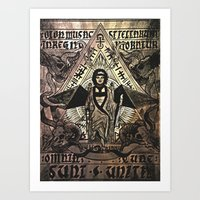 Mantra Of The Star Doe Art Print