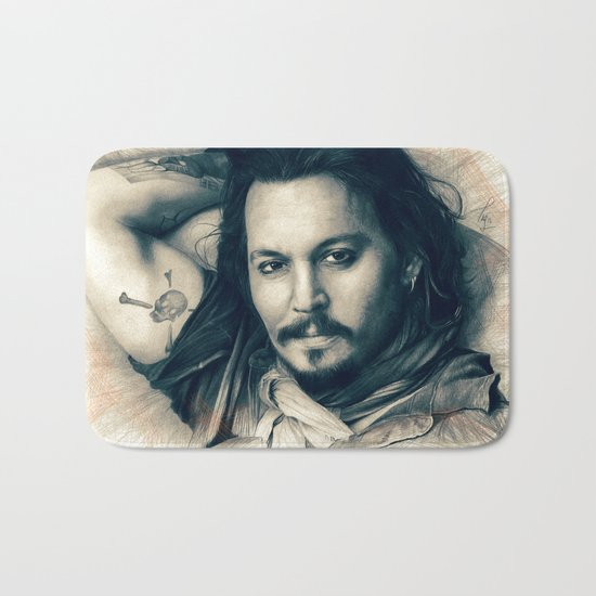 Johnny Depp II. Bath Mat