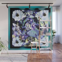 Where Flowers Are Created Wall Mural