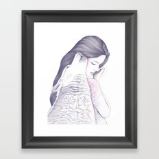 Twin Souls Framed Art Print