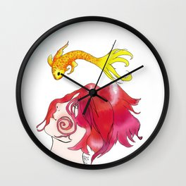 Eloise & Fish Wall Clock