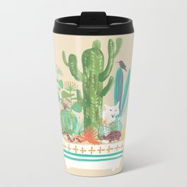 Desert planter Metal Travel Mug