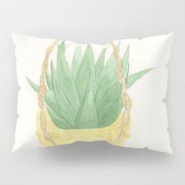 Macrame Succulent Pillow Sham