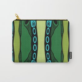 Green Dive-Plongeon vers-Stripes2 Carry-All Pouch