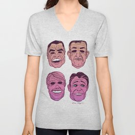 POINT BREAK SERIES - The Ex Presidents Unisex V-Neck