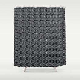 Sharkskin Floral Shower Curtain