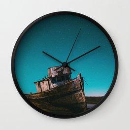 Shipwreck Galaxy Wall Clock