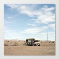 cooking Canvas Prints featuring Cooking by Ulrich Zinell