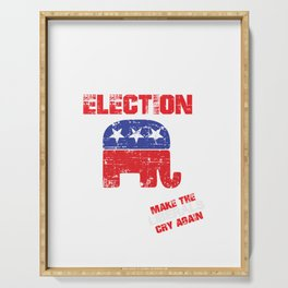 2020 ELECTION US Serving Tray