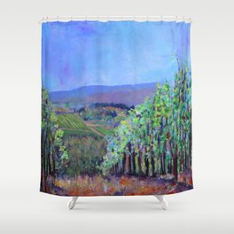 Hillsides of Tuscany Shower Curtain