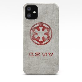 StarWars Galactic Empire - Obey (Red) iPhone Case