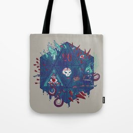 Die of Death Tote Bag