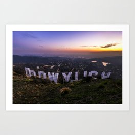 DOOWYLLOH Art Print