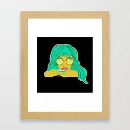 MedicineGirl Framed Art Print