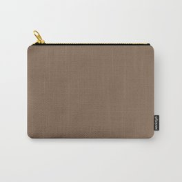 Pastel Brown - solid color Carry-All Pouch