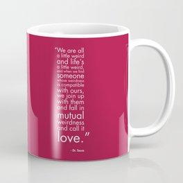 Mutual Weirdness Coffee Mug