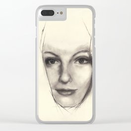 "Art Series ""Trinity"" THE INTRODUCTION - KEEPER OF LOCI Clear iPhone Case"