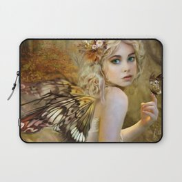 Touch of Gold - Fairy Laptop Sleeve
