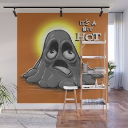 Mr. Melty Wall Mural