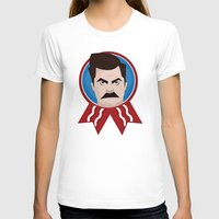 swanson T-shirts featuring Ron Swanson by creative.court