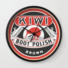 Vintage Kiwi Wall Clock