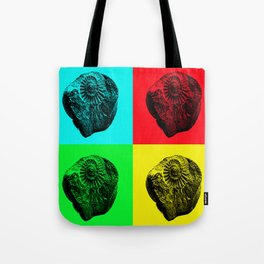 Pop Art Fossil Tote Bag