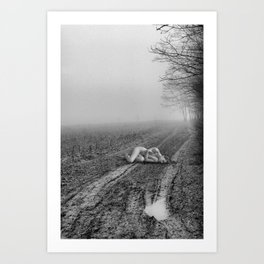 ASH Art Print