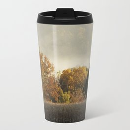Autumn Cornfield Travel Mug