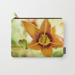 Day Lily Abstract Carry-All Pouch