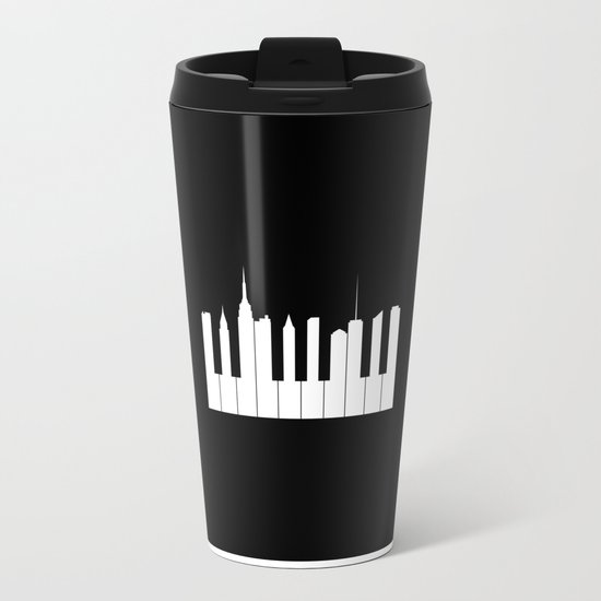 New York, New York Metal Travel Mug