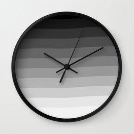 Ombré Wall Clock