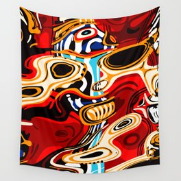 Subtho - 9516 Dead Toaster Chillin' (Totem series) Wall Tapestry