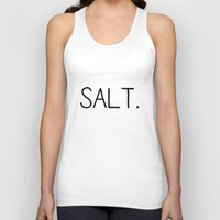 salt water Tank Tops featuring Salt. by Young Salts