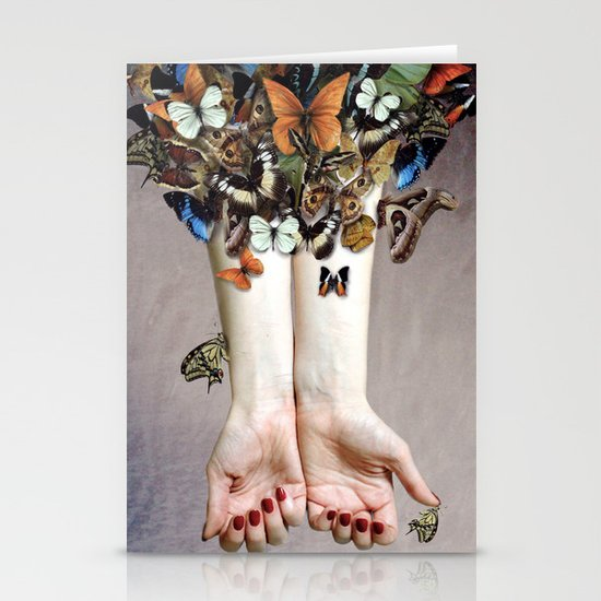 The Butterfly Project (2) Stationery Cards