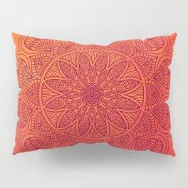 Sun Mandala Pillow Sham
